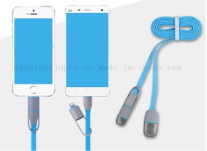OEM 2-in-1 Long iPhone Android Charger Micro USB Cable