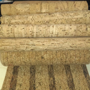 Real Cork PU Synthetic Leather for Bags, Shoes (HS-BC01) pictures & photos
