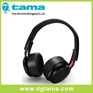 Foldable Overhead Long Standby Time Wireless Bluetooth Headphone Black Color