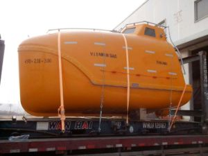 Used/Second Hand Totally Enclosed Life Boat&Rescue Boat Solas Approved pictures & photos