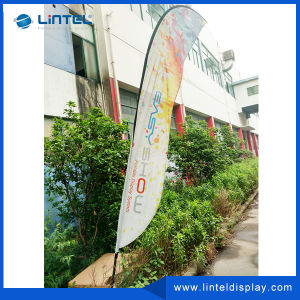 2015 Wholesale Widely Used Feather Flag Promotion Flag Knife Beach Flying Flag Advertising pictures & photos