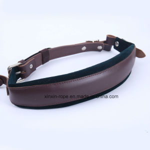 Real Leather Fashion Velvet Belt High Quality for Guitar pictures & photos