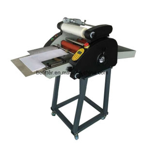 TR-380 hot automatic roll laminator with feeding and cutting /fast speed pictures & photos