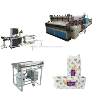 Automatic Small Toilet Roll Paper Band Saw Cutting Machine Price pictures & photos