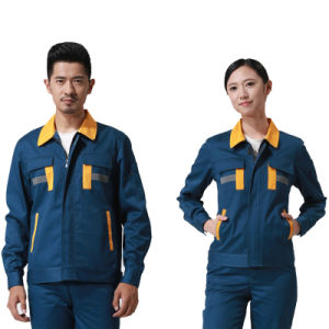 Cotton Oversize Labor Insurance Workwear Uniform for Worker pictures & photos
