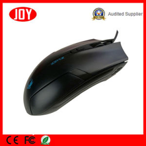 Customized Logo Computer Wired 3D Adjustable Dpi Optical Mouse pictures & photos