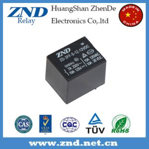 T73 (3FF) Power Relay 7A 12V Electromagnetic Relay 4pins