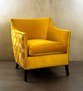 2016 Bright Color Velvet Fabric Leisure Chair for Home (LCS-006)