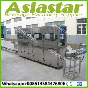 100bph Automatic 20 Liter Barrel Water Filling Line pictures & photos