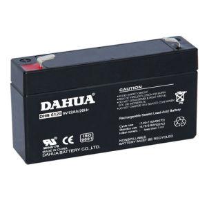 6V 12ah VRLA Sealed Lead Acid Maintenance Free UPS Battery pictures & photos
