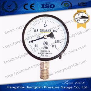 Ammonia Pressure Vacuum Gauge pictures & photos