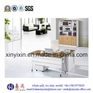 Customized Wooden Furniture MFC Manager Office Table (D1609#) pictures & photos