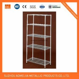 Heavy Duty Chrome Metal Wire Shelving Rack for Shelf Customers