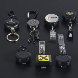 Promotional Wholesale Plastic Badge Reel Retractable with Fix Functions