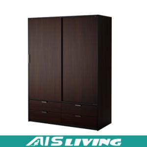 Custom Made Plywood Sliding Doors Bedroom Wardrobe Closet (AIS W259)