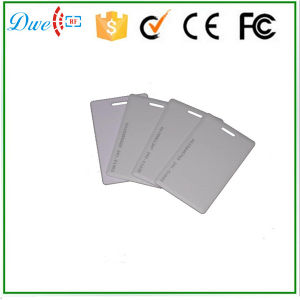 Hot Selling Rewritable PVC Clamshell 125kHz T5577 RFID Card pictures & photos