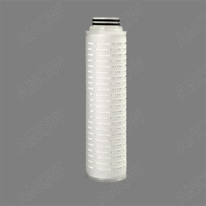 High Pressure Water Filter Housing with 1 Micron PP Pleated Filter Cartridge