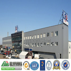 Commercial Steel Structure Shopping Mall with Multi Floors