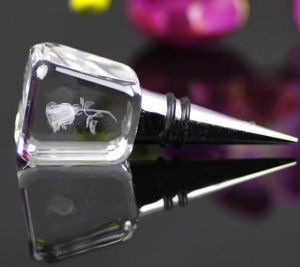 Crystal Wedding Gift Giveaway Gift Wine Bottle Stopper pictures & photos