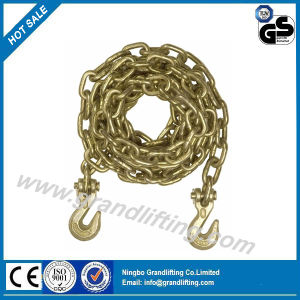 G80 Golden Galvanized Chain Sling with Hook pictures & photos