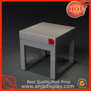 Wooden Chair MDF Shoe Store Seating Furniture pictures & photos