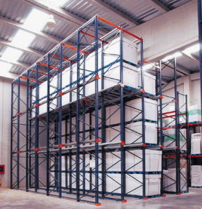 Warehouse High Density Drive-in Pallet Rack pictures & photos