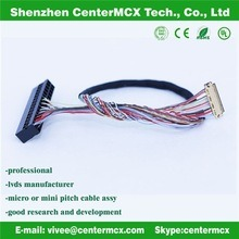 LCD Cable Assembly Factory Lvds Engine Wire Harness