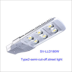 180W LED Street Light with Bridgelux Chip and Inventronics Driver