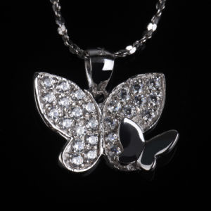Beautiful Betterfly Shape Fashion Decoration Jewelry Necklace pictures & photos
