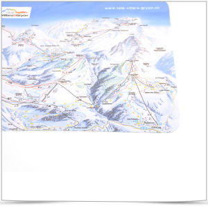 Microfiber Cleaning Cloth Printed with a Map pictures & photos