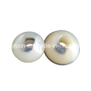 OEM Clear Silicone Soft Rubber Tapered Insert End Cap for Sealing pictures & photos