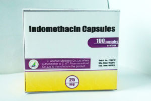 Medicine Grade Indomethacin Capsules pictures & photos