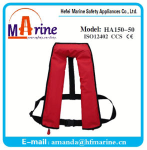Solas Approved 150n Double Chambers Inflation Life Jacket pictures & photos