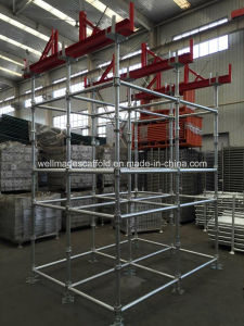 Cup Lock Scaffold Ready Lock Quick Steel Scaffolding pictures & photos