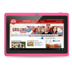 7 Inch 1027*600 Pixel Tablet PC with 1g +8g Memory, 0.3MP+2MP Camera.