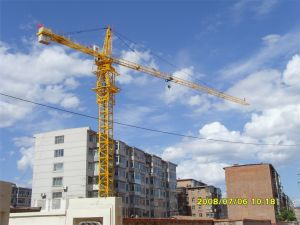 China Factory Ce SGS Passed 56m Tower Crane pictures & photos