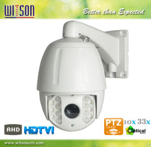 HD CCTV Ahd Hdtvi Waterproof PTZ Zoom Speed Dome Camera pictures & photos