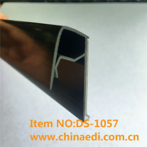 Black PVC Plastic Profile for Wire Basket (DS-1057) pictures & photos