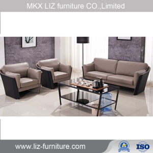 Commercial Office Furniture Modern Leather Sofas Set Office Reception Sofa  (Y338)