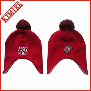 Cheap Promotion Cute Knitted Hat with Earflap pictures & photos