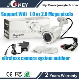 P2p IR Outdoor Bullet IP Security Camera 1080 Wireless H. 264 HD Waterproof WiFi Outdoor Camera pictures & photos