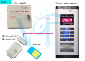Computer Phone Setup Smart Open Wireless Apartment Access Control Gsm Automatic Door Operator Building Intercom