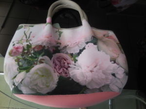Soft Generous Lightweight Tote Bag Neoprene Handbag pictures & photos