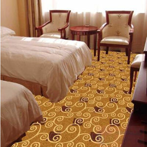 China Customerized Wool Handmade Modern Carpet for Wholesale