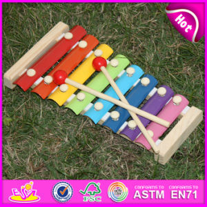 2015 Hot Sale Wooden Knock Piano, Wooden Piano Toy, Knock Piano Wooden Toy, Wooden Instrument Piano W07c040 pictures & photos