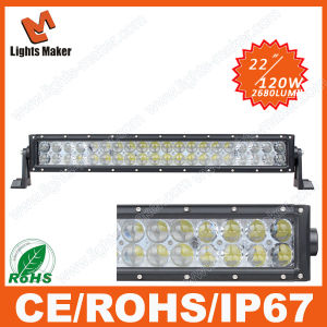 120W4d LED Light High Efficiency 22inch LED Light Fixture Bumper Lights Clip