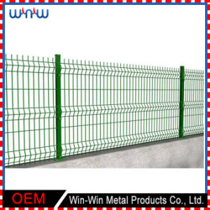 Security Privacy Welded Wire Metal Fence Square Cheap Garden Fence Panels pictures & photos