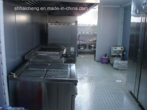 Mobile Modern Portable Modular Shipping Container Kitchen pictures & photos