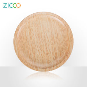 Melamine Wooden Decal Oval Plate pictures & photos
