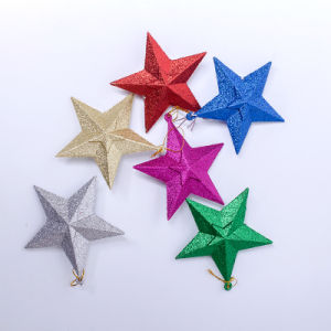 Christmas Tree Decorated Ornament--Tree Top Star pictures & photos